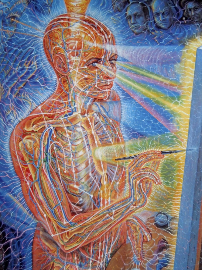 painting alex gray