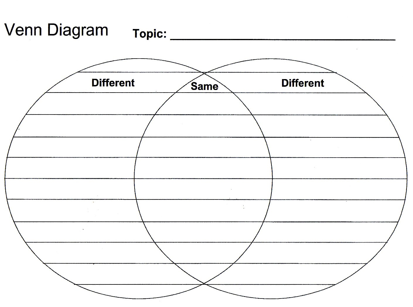 Create Your Own Venn Diagram | Search Results | Calendar 2015