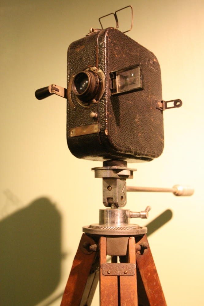 antique video camera