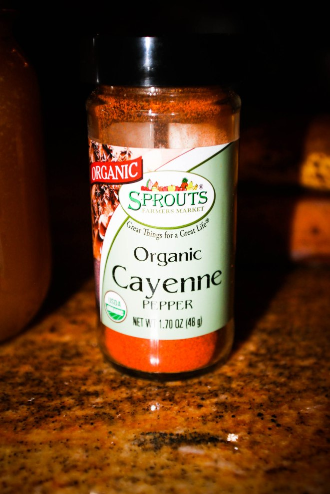 cayenne is optional