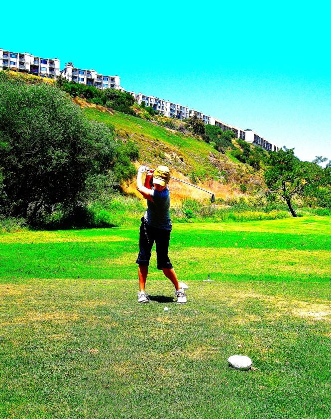 lottery- golf swing