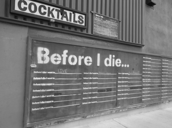 before i die billboard