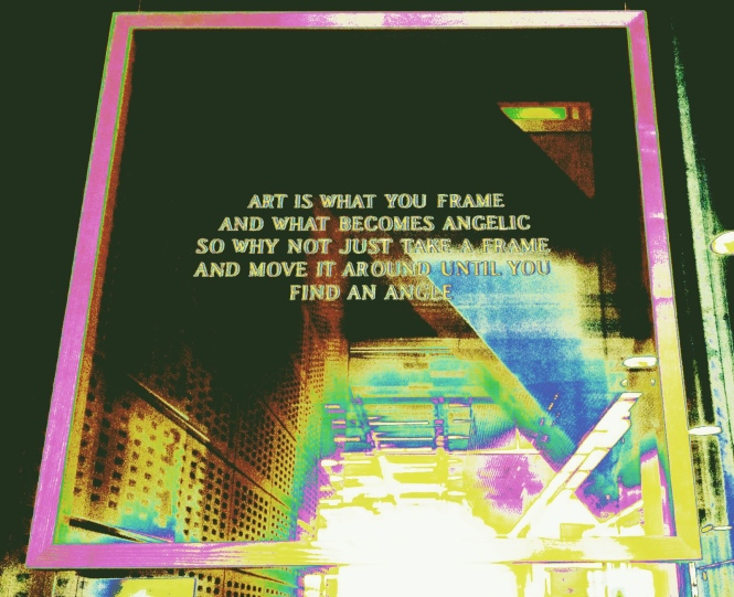art is what you frame