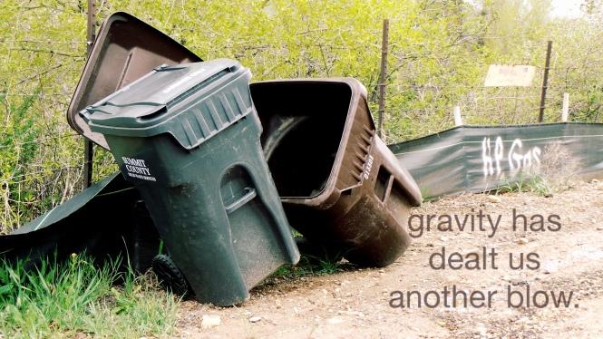 gravity has dealt us another blow