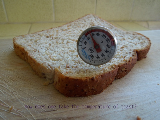 i.s.may- temp of toast