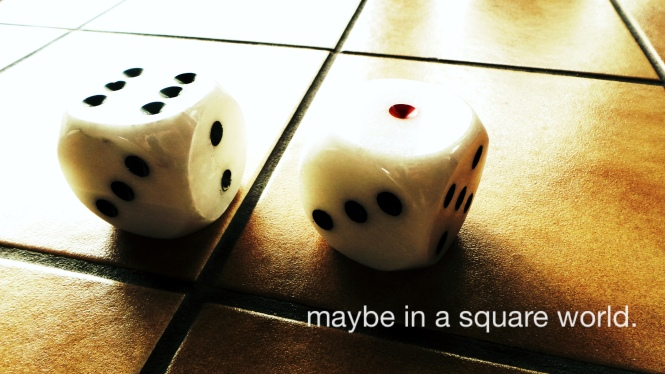 maybe in a square world.