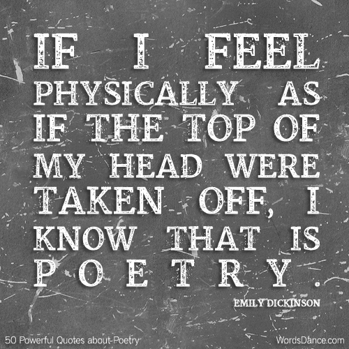 poetry quote emily dickenson