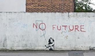 no future banksy- photoshopped