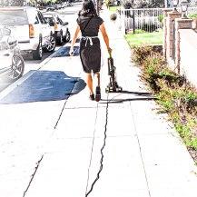 court walk away vac